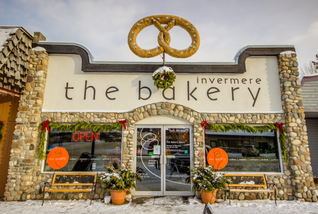 The bakery in Invermere, BC, Canada