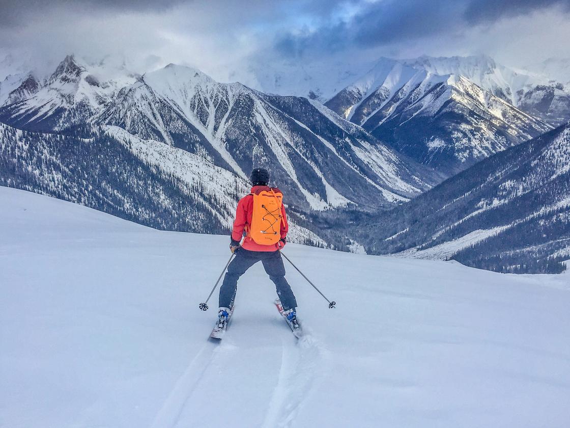 Heli-skiing with RK Heliski in Panorama, BC, Canada
