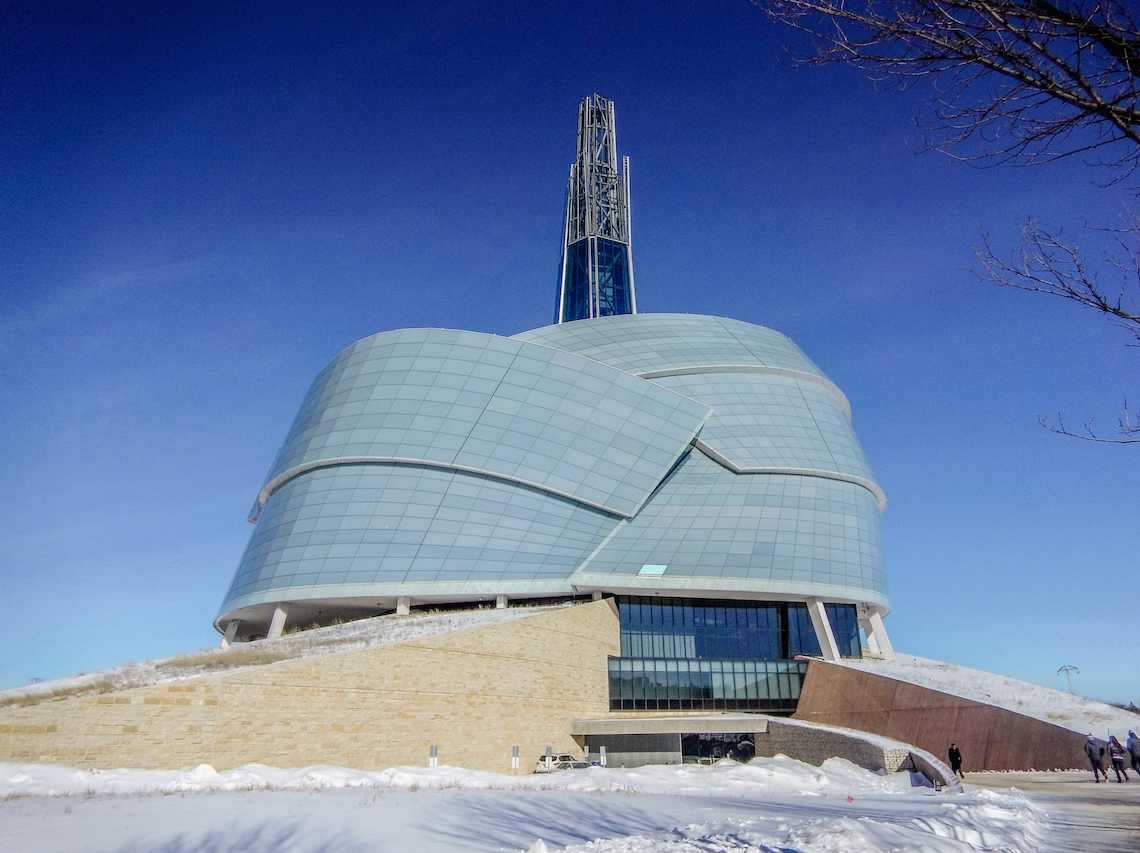 The Canadian Museum of Human Rights in Winnipeg, Manitoba