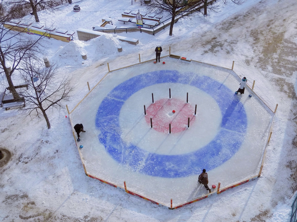 Playing Crokicurl is one of the things to do in Winnipeg in winter