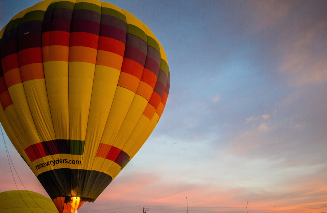 Phoenix hot air balloon ride