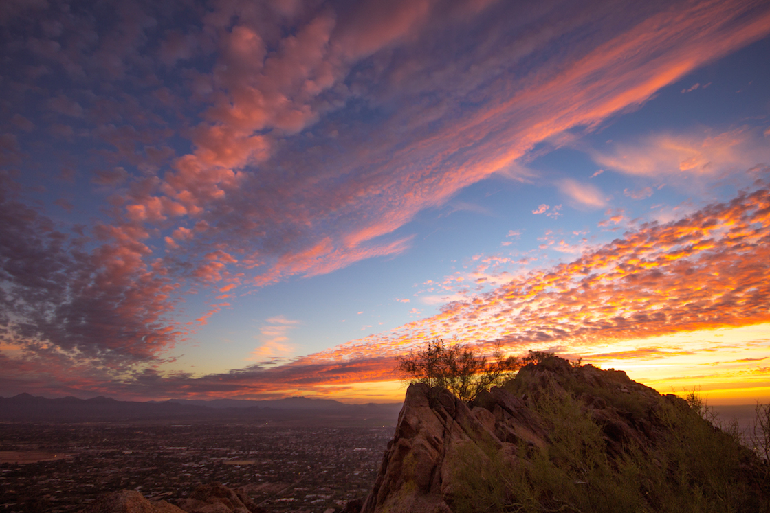 Camelback Mountain in Scottsdale, Arizona
