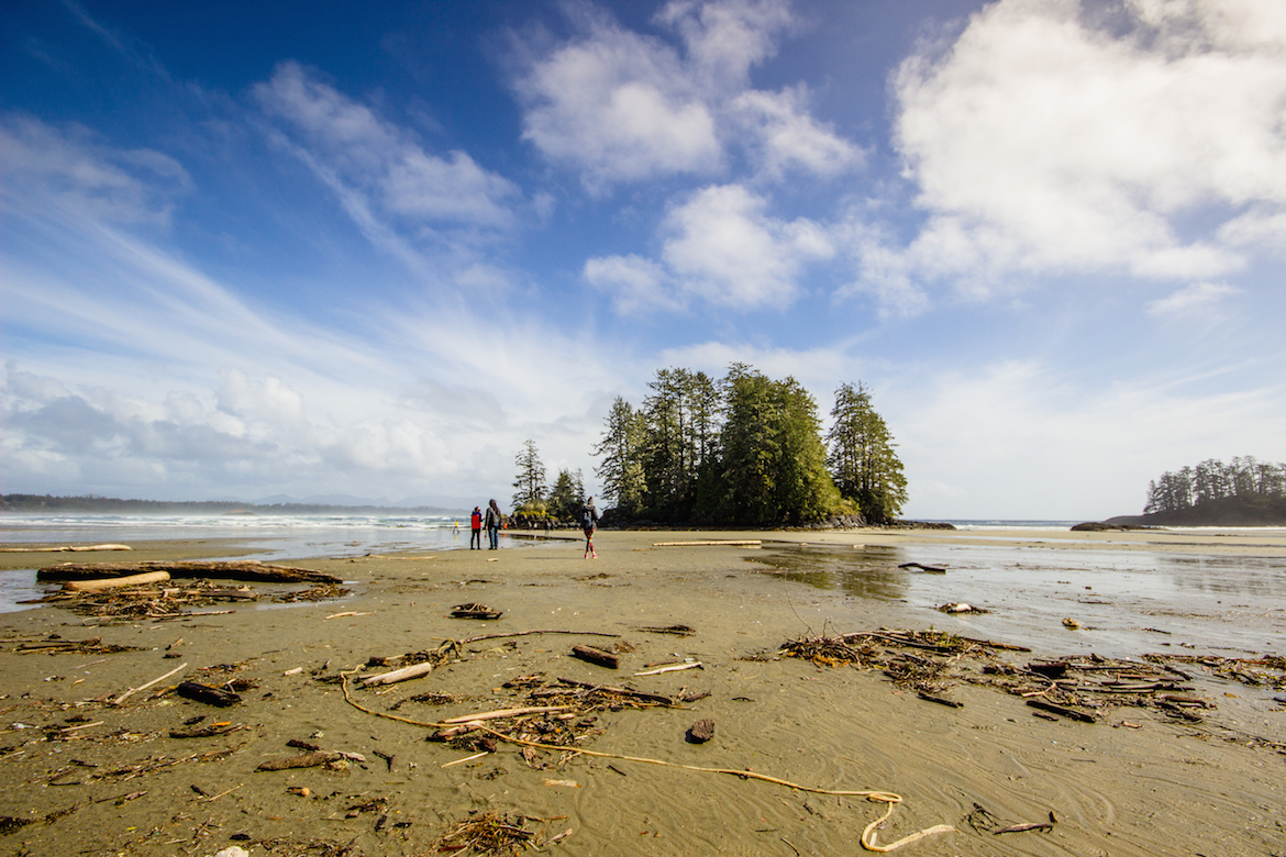Schooner Cove Trail in Tofino's Pacific Rim National Park Reserve