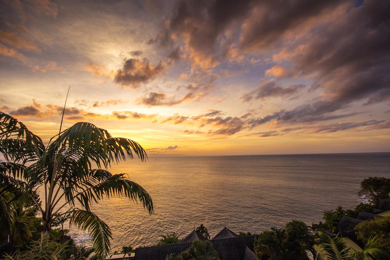 Sunset at Sandals Regency La Toc.