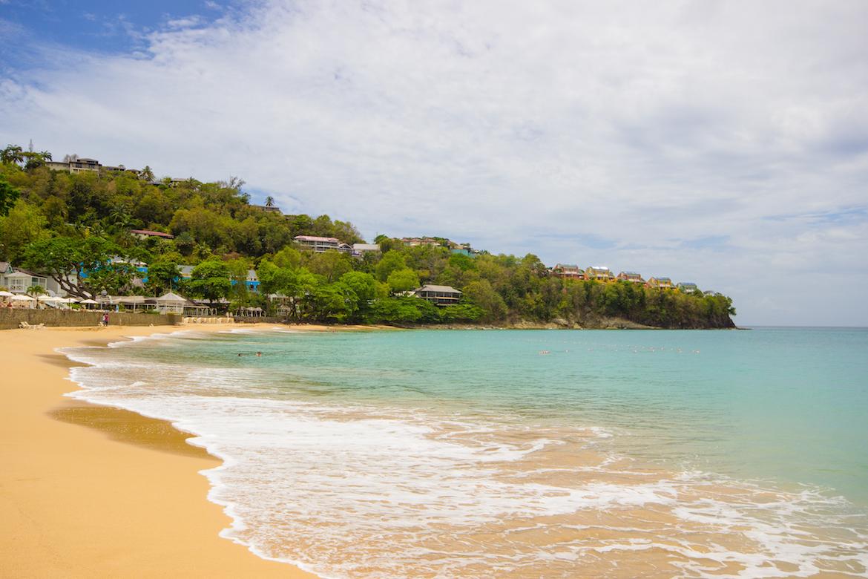 The beach at Regency La Toc.