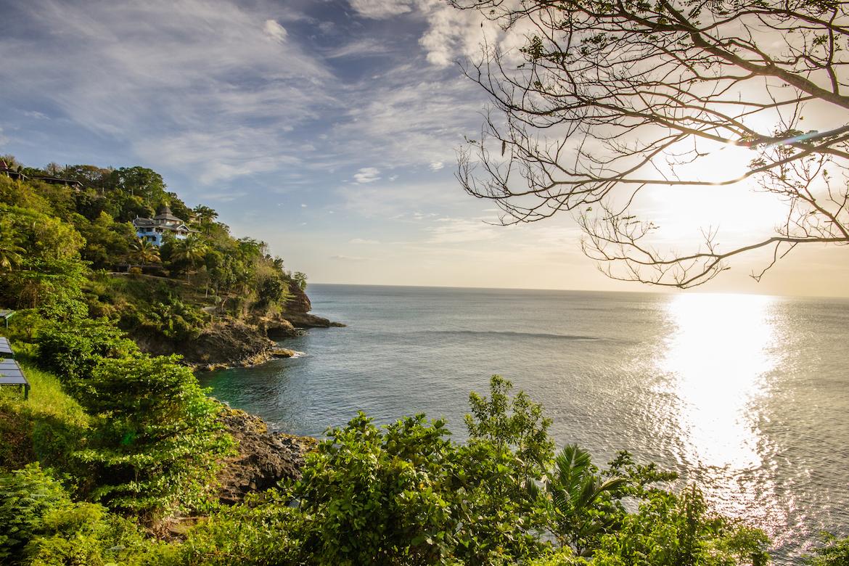 Sandals RegencyLa Toc bluffs and ocean view