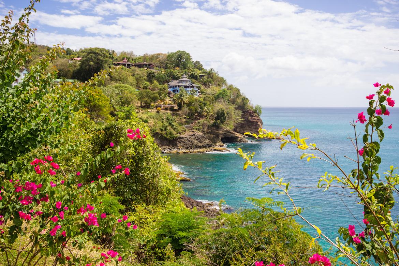 View at Sandals Regency La Toc of the ocean