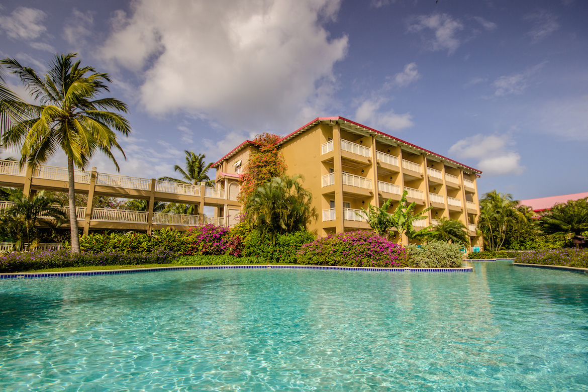 Swim up to your room at Sandals Grande St. Lucian