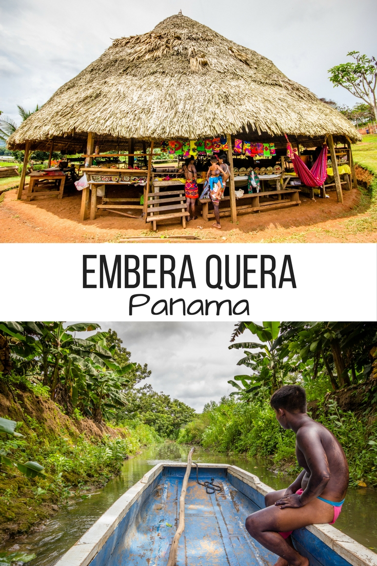 Embera Quera is an indigenous community in Panama where visitors can see what life is like off the grid, all while meeting their fare share of monkeys!