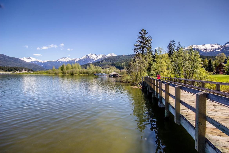Green Lake in Whistler, B.C.