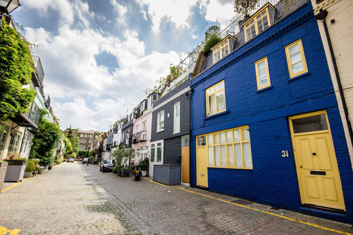 St Luke's Mews, London, England