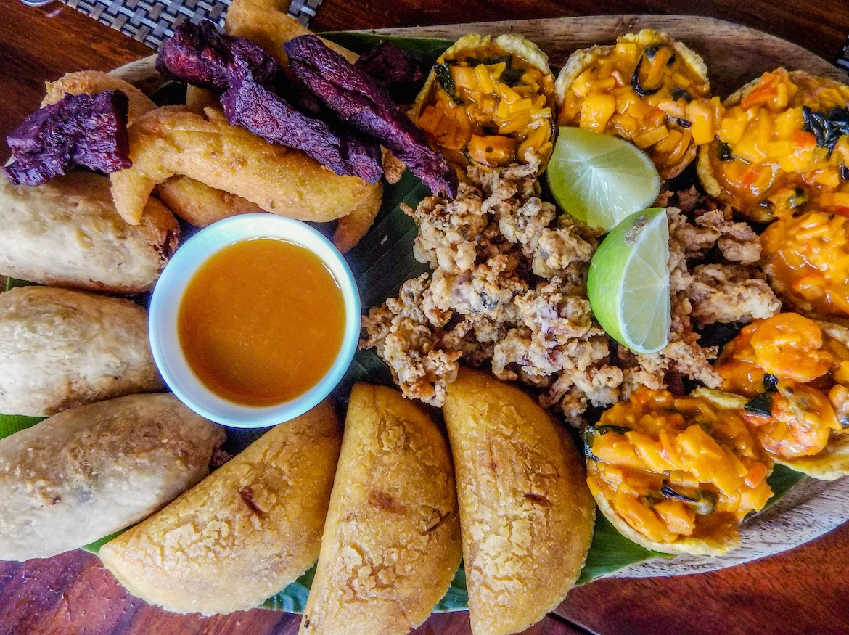 temptation plantains at Diablicos in Panama City, Panama
