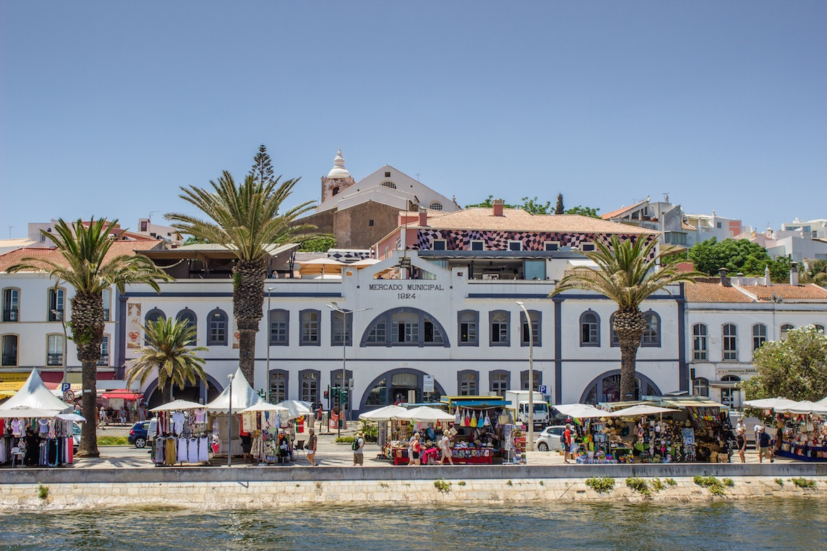 The waterfront in Lagos, Portugal