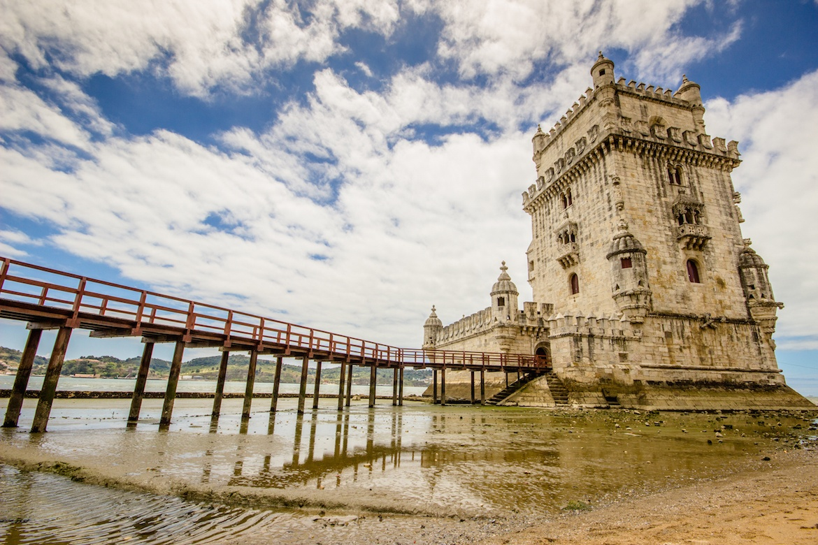 Torre de Belem is a must do on a Lisbon itinerary
