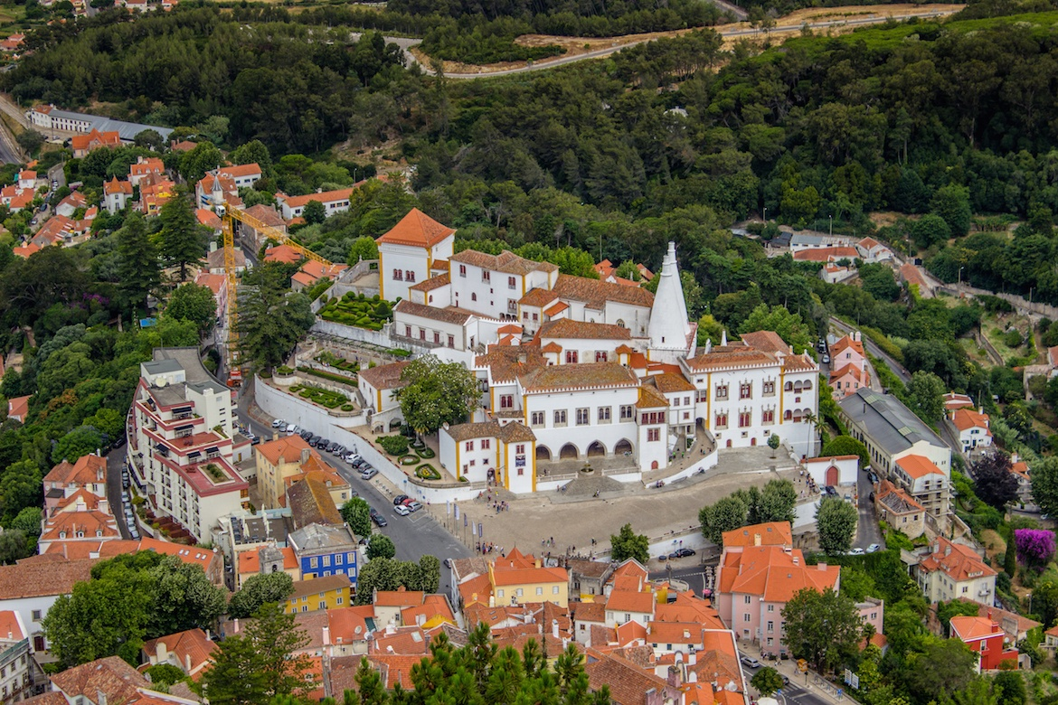 National Palace of Pena on a Sintra day trip from Lisbon