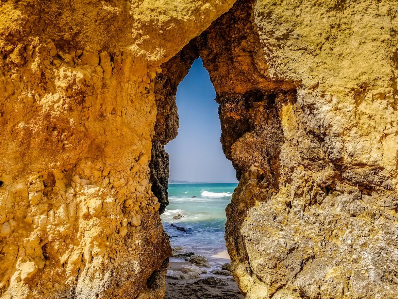 Praia do Camillo in Lagos, Algarve, Portugal