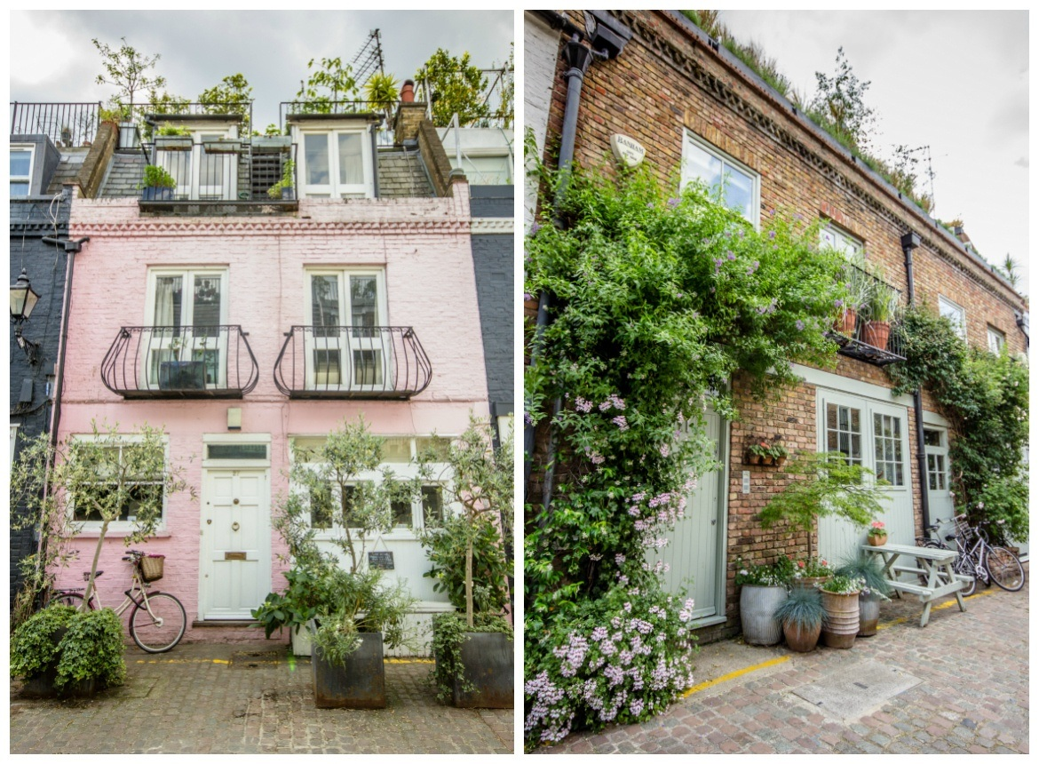 St Luke's Mews in London, England