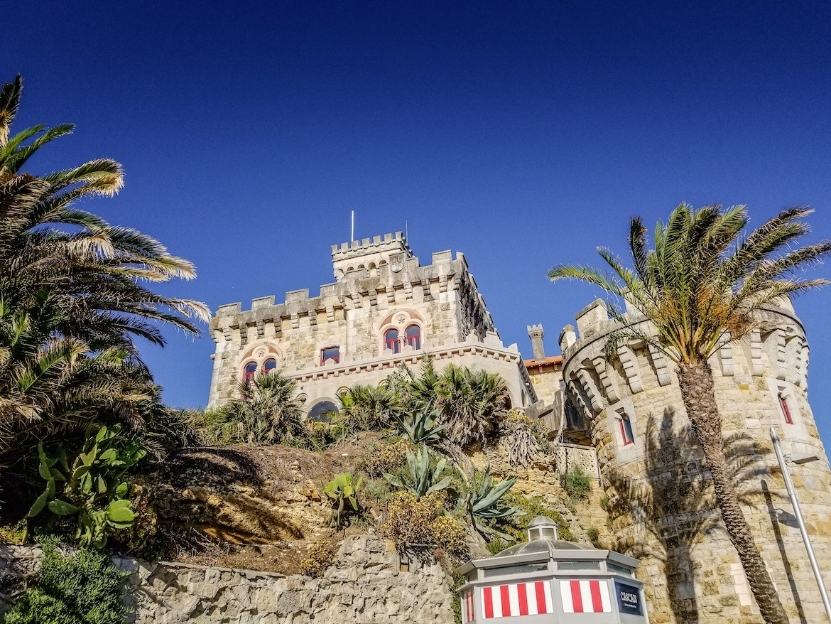 A castle in Estoril, Portugal