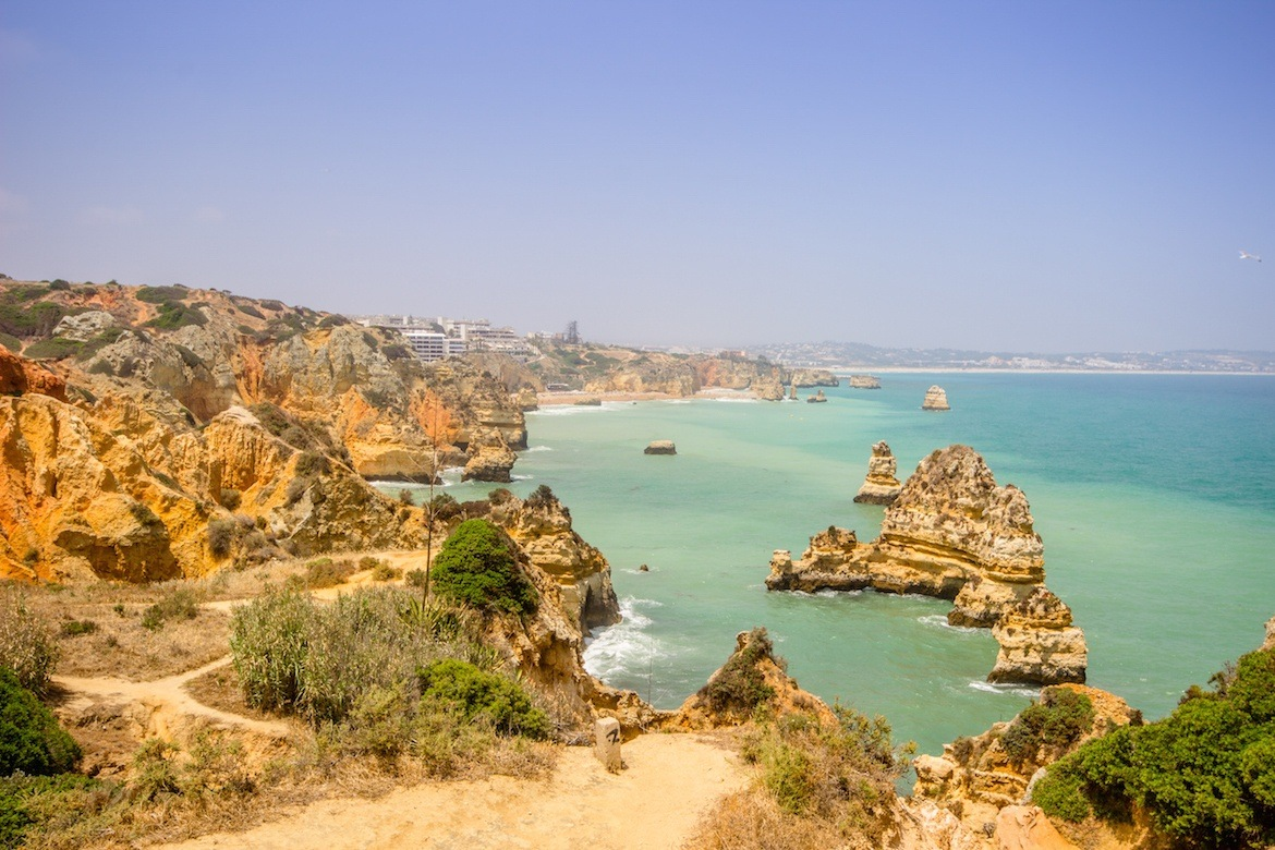 Praia do Camillo in Lagos, Algarve, Portugal