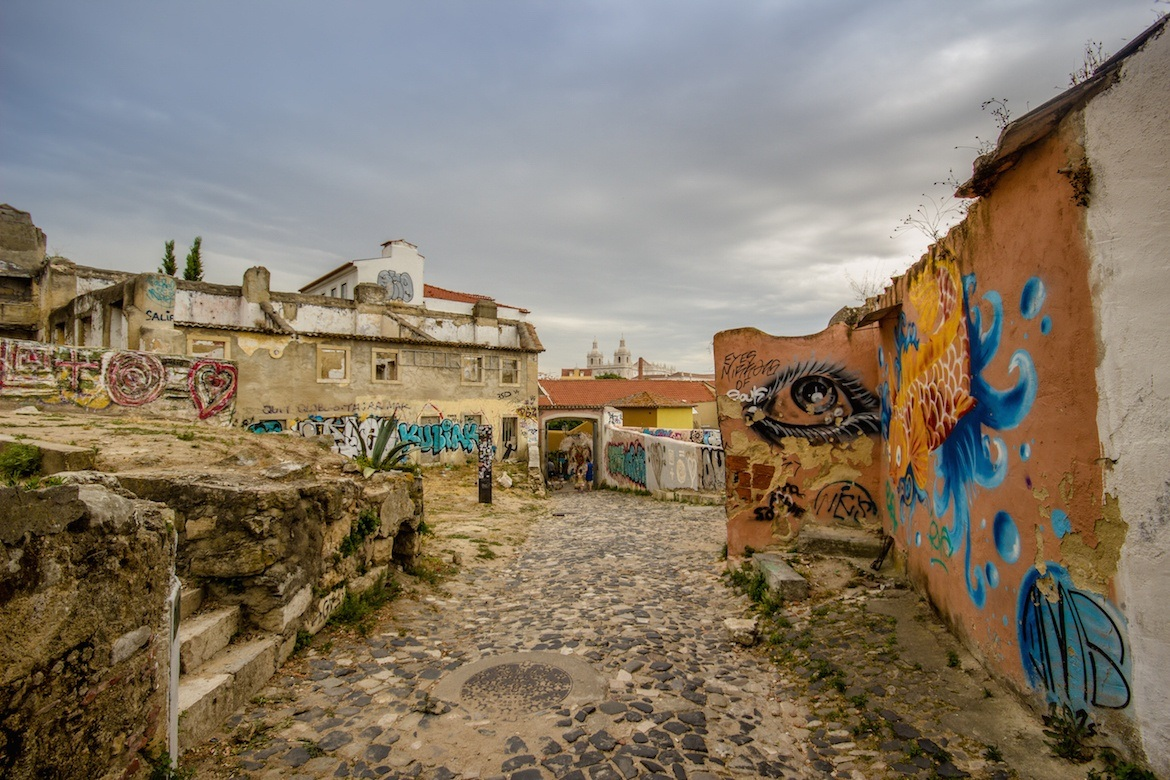 The Alfama district is a must see on a Lisbon itinerary