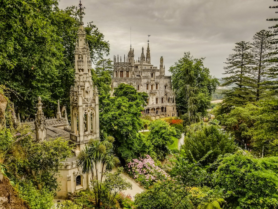 Quinta da Regaleira in Sintra, Portugal