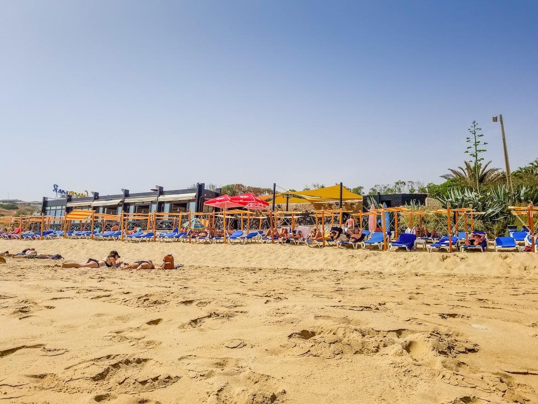 Praia do Porto Mos in Lagos, Algarve, Portugal