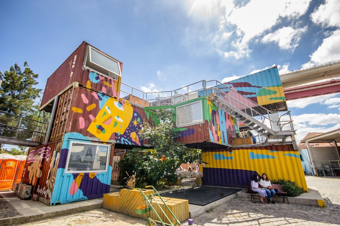 Village Underground is one of the top things to do in Lisbon