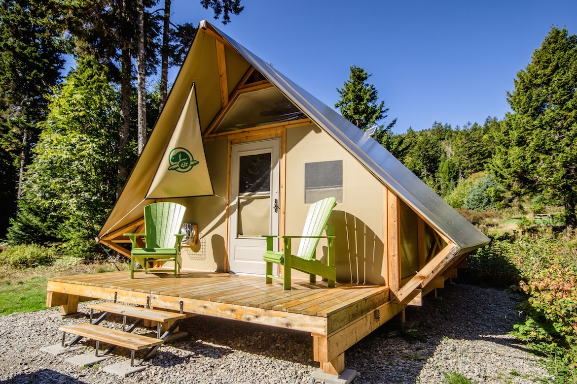 Fundy National Park, New Brunswick, unique accommodations