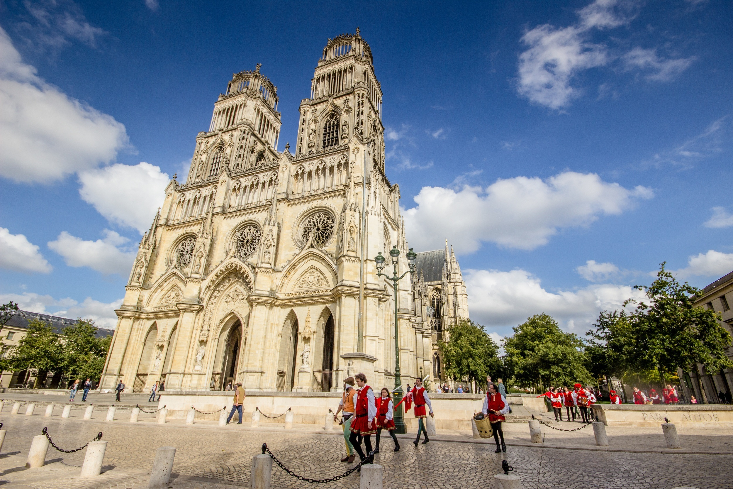 The cathedral in Orleans, France