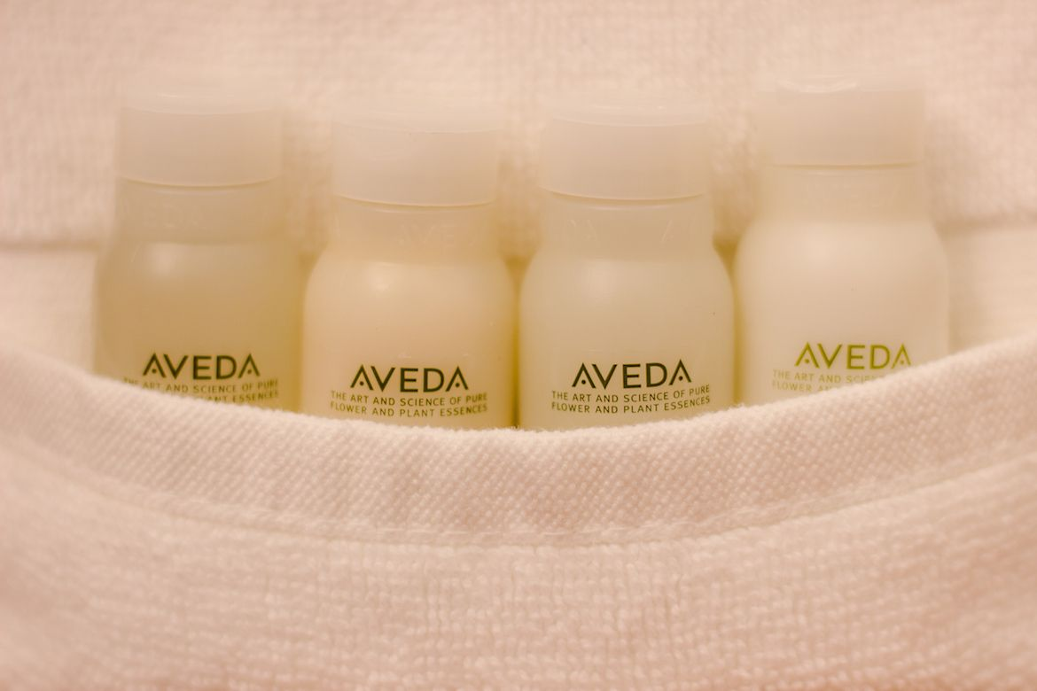 aveda products at The Phoenix Resort, San Pedro, Belize