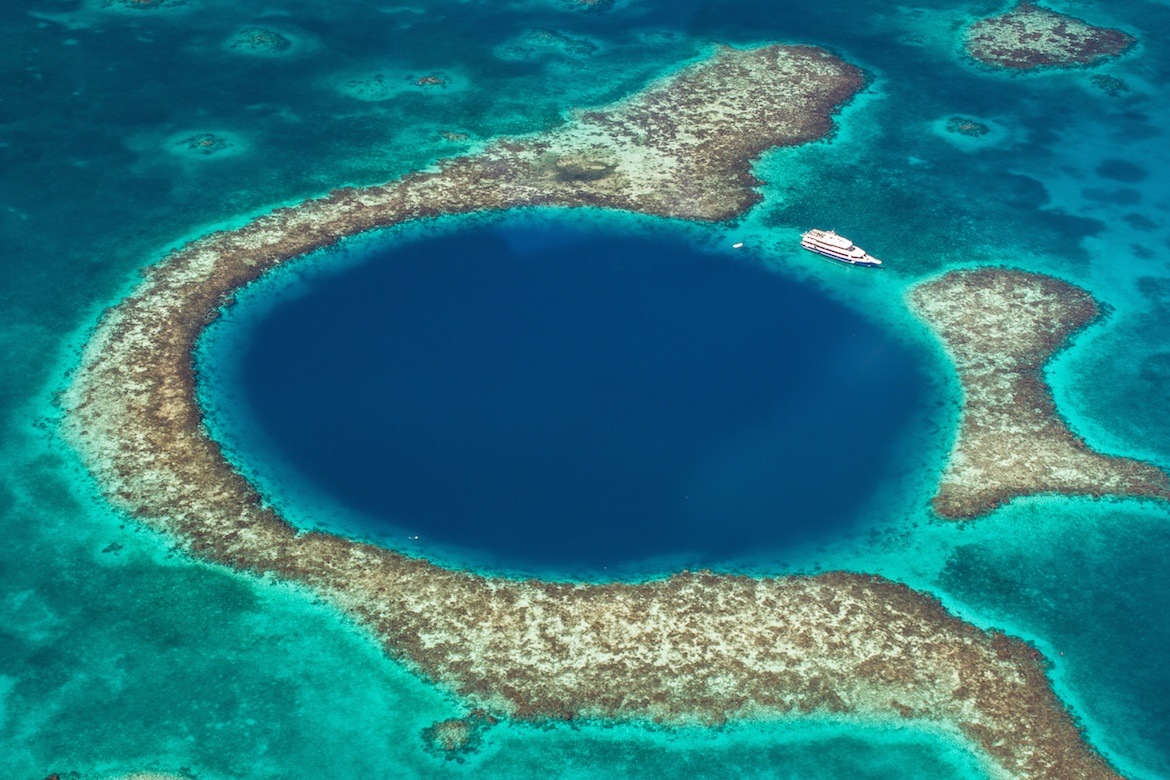One week Belize itinerary- Great Blue Hole