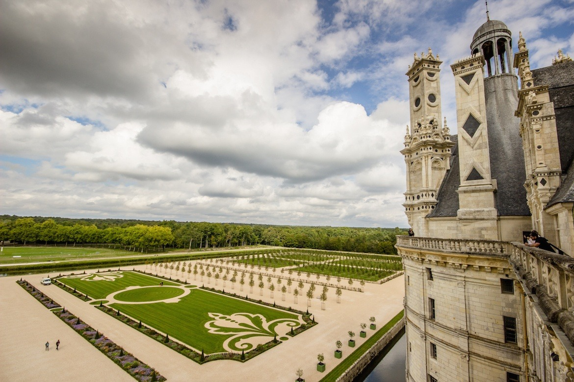 Chateau de Chambord. Loire Valley, France