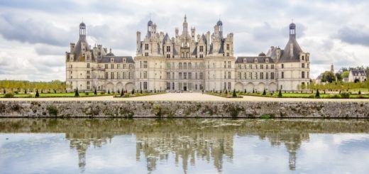Chateau de Chambord. Loire Valley, France