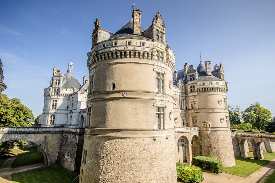 Chateau du Lude. Loire Valley, France