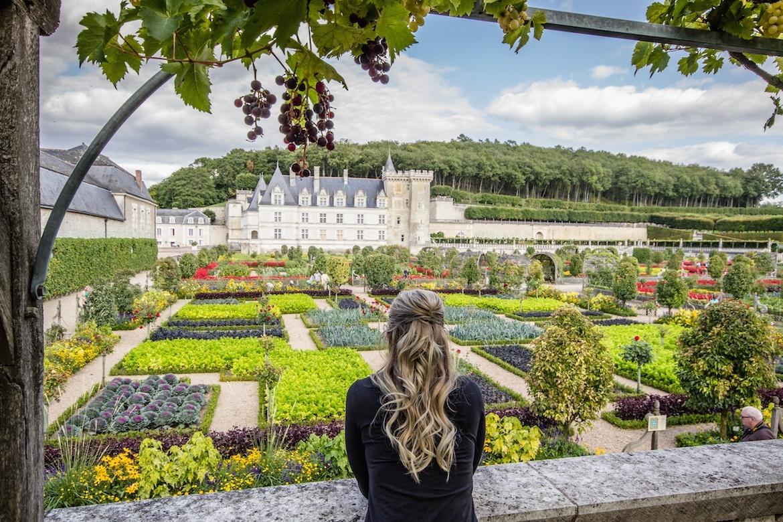 Chateau de Villandry. Loire Valley, France