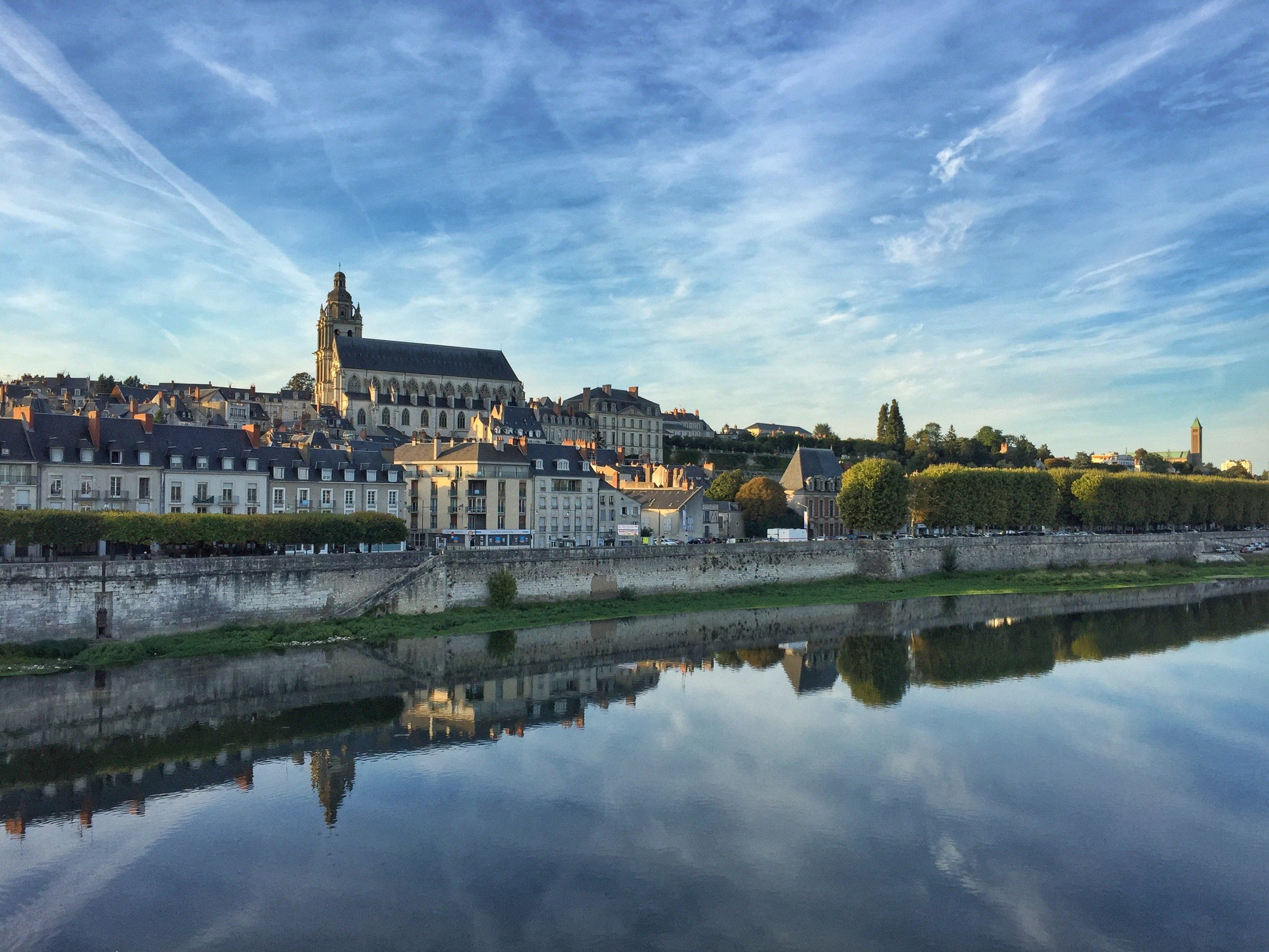 The city of Blois, France
