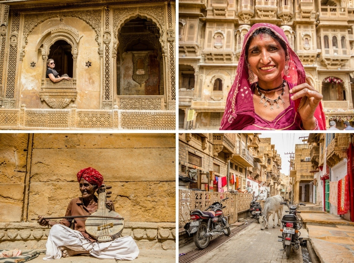 Jaisalmer, India. Palace on Wheels