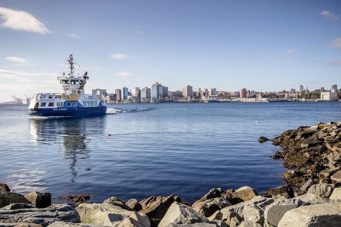 The Halifax skyline as seen from Dartmouth