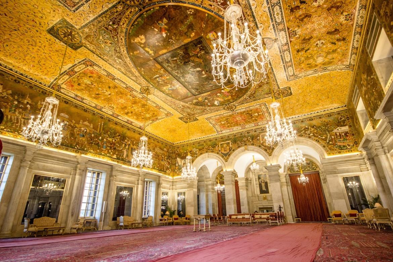 Ashok Hall, presidential palace, Delhi, India