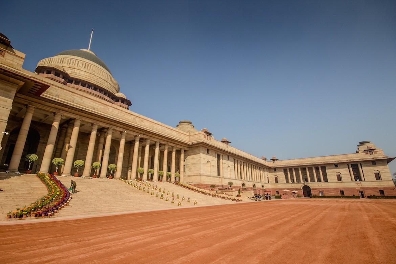 Delhi presidential palace