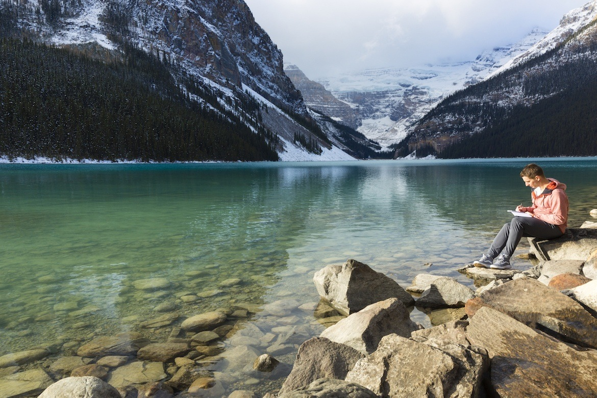 writing retreat in Lake Louise