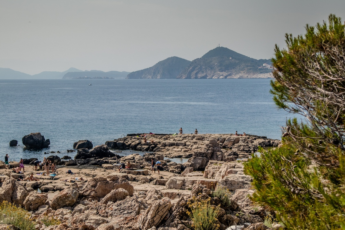 The Rocks on Lokrum Island. A day in Dubrovnik, Croatia itinerary