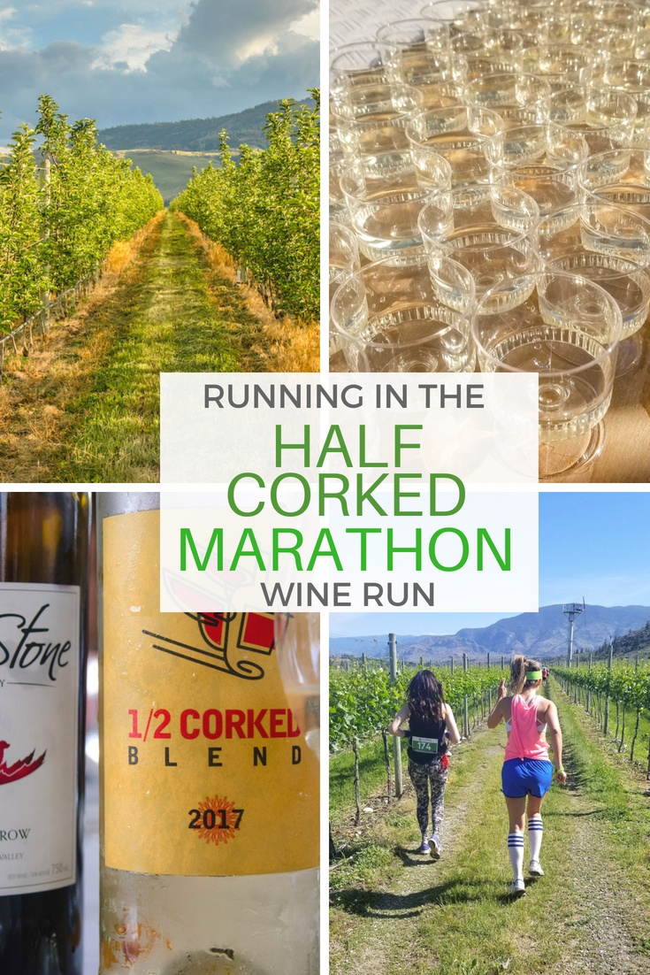 The annual Half Corked Marathon is the hottest ticket in the #Okaganan, where wineries host an 18-kilometre run through the vineyards which includes copious amounts of wine drinking along the way.