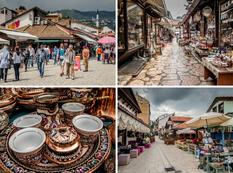 Sarajevo, Bosnia old town