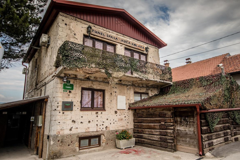 The War Tunnel Museum in Sarajevo, Bosnia