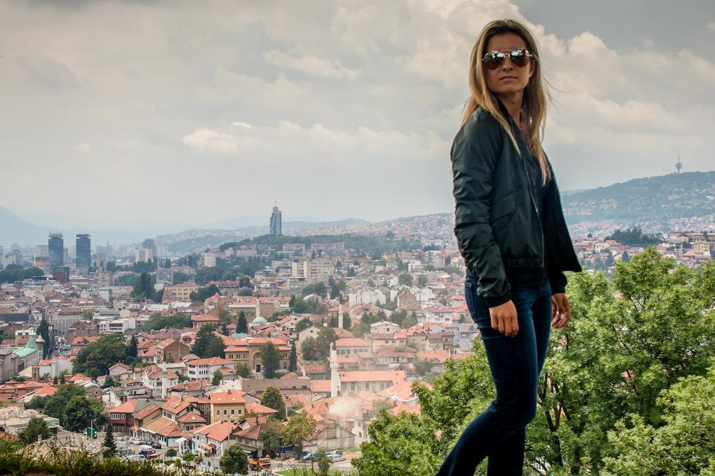 Sightseeing in Sarajevo, Bosnia