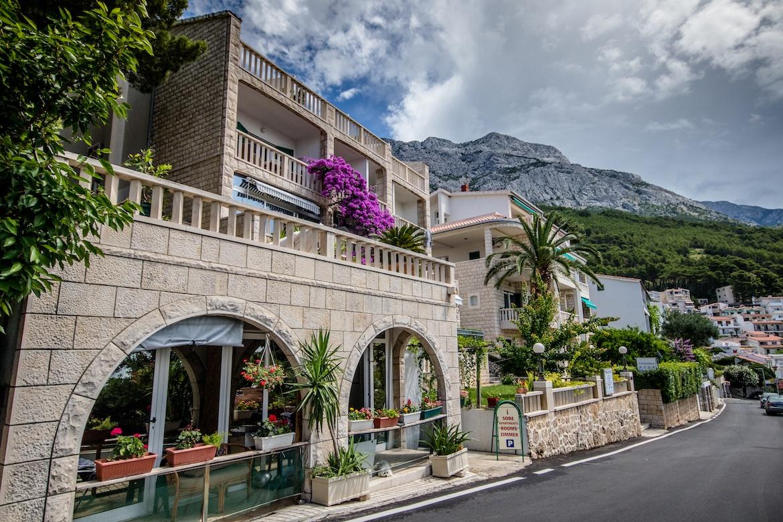 Villa Bose in Brela, Croatia