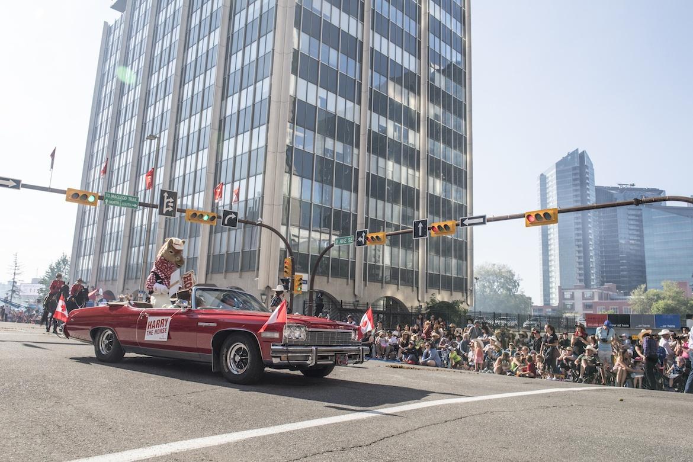 The Calgary Stampede parade