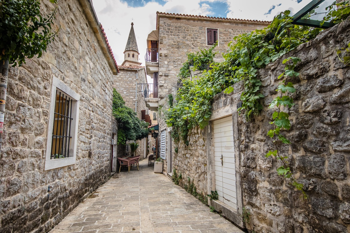 Budva, Montenegro is one of the best day trips from Dubrovnik