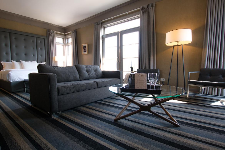 A suite at Hotel Arts Kensington in Calgary, Alberta